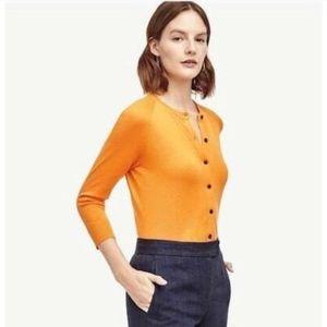 NWT Ann Taylor Cardigan Sweater 3/4 Sleeve Size S